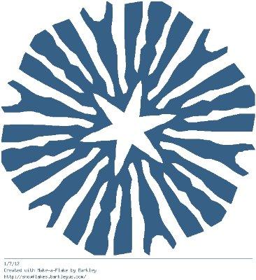 Зимнее рукоделие - вырезаем снежинки! - Страница 10 2ef2a81ad49c