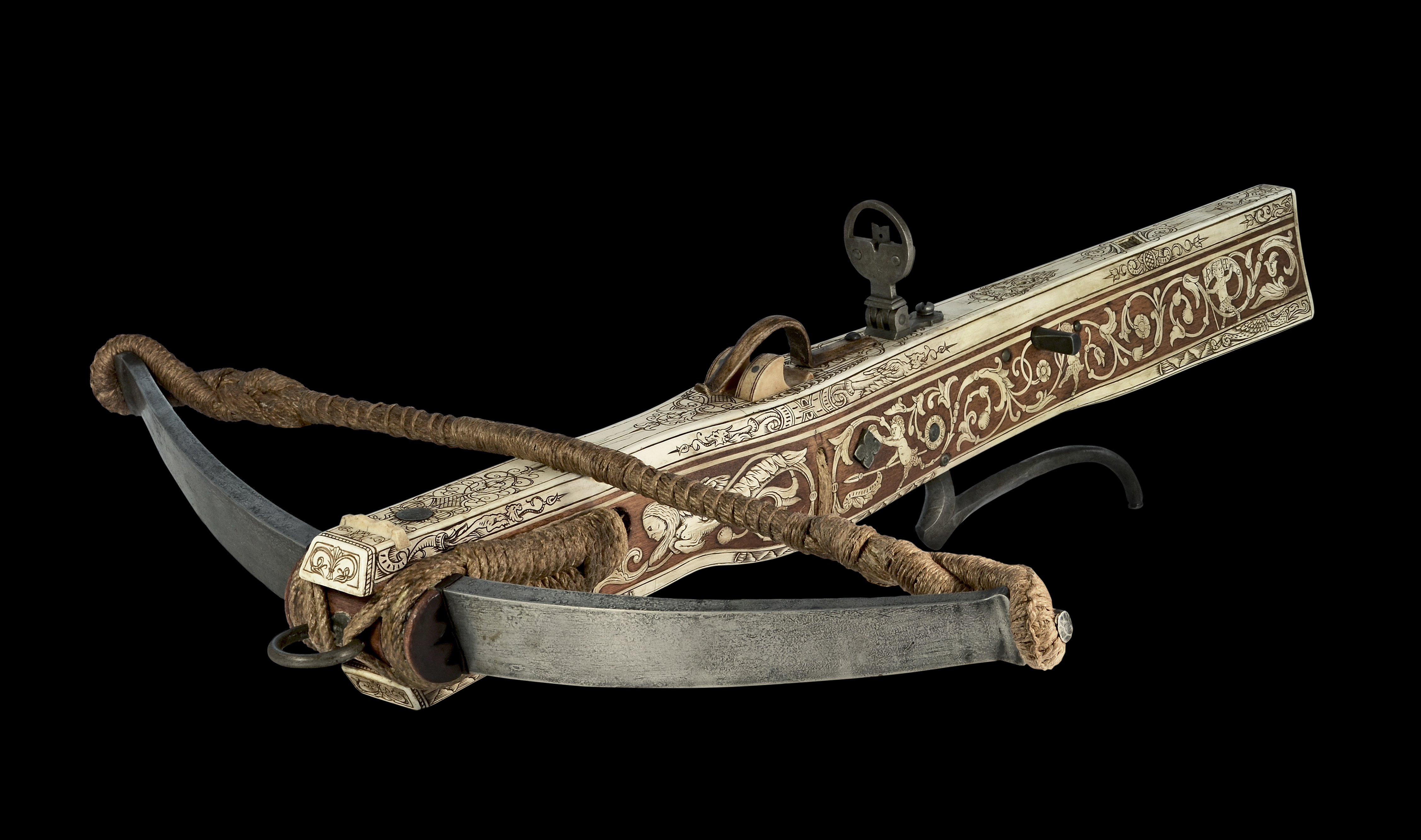 German hunting crossbow XVI th(replica) E1e80d703534