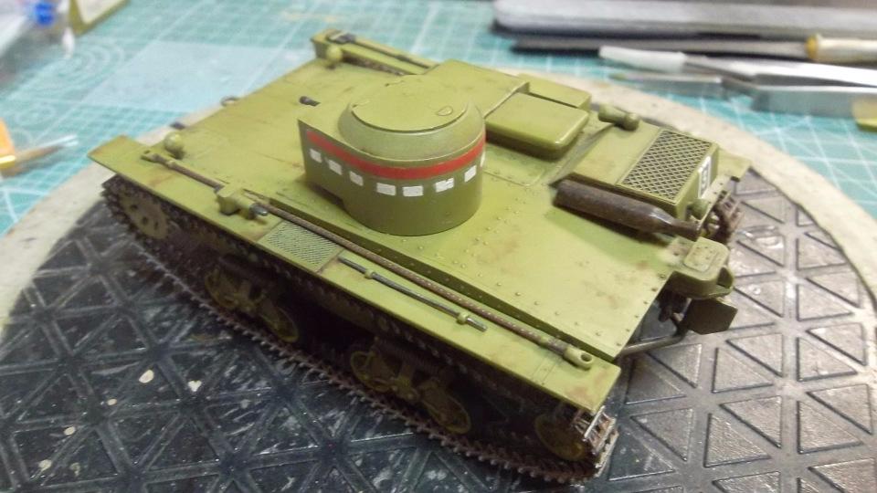Т-38 малый плавающий танк, 1/35, (Восточный экспресс 35002 / MSD 3522 / AER Moldova). D29699986c18
