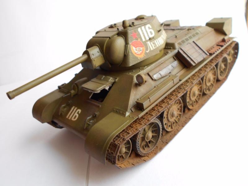 Т-34/76 выпуск начала 1943г 1/35 (Моделист №303529) - Страница 2 Cb1e09a3f241
