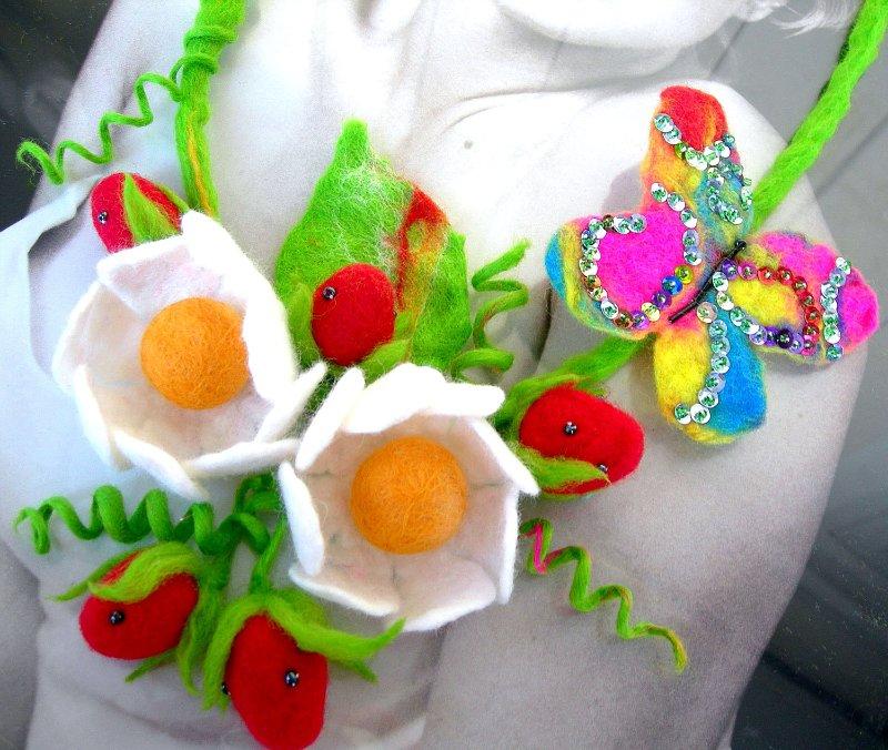 Цветы из фетра Cbb89e261b40