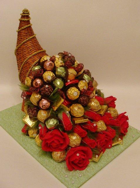 Букеты из конфет - Страница 20 13374061e7ab