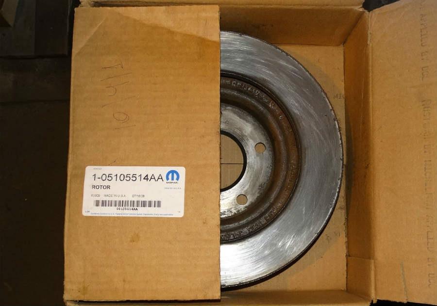 Тормозной диск для Jeep Patriot, Compass 538373b0c88b