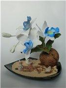Цветы ручной работы из полимерной глины - Страница 5 235e3452f902t