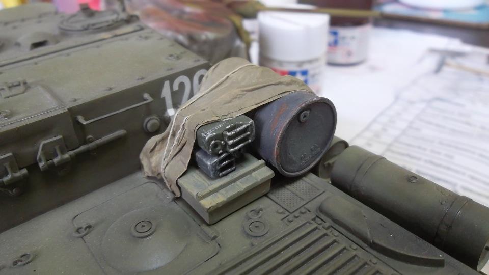 "ИСУ-152 ""Зверобой"", 1/35, (Звезда 3532) перекраска старой модели. Eeb7f71b1496"