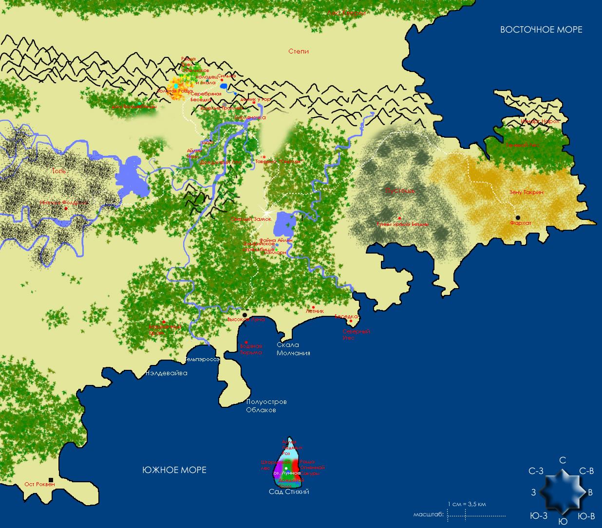 Карта Альтадора