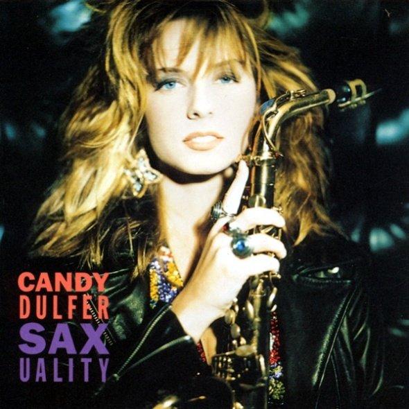 Кэнди Далфер. Девушка с саксофоном 52a7607f4188