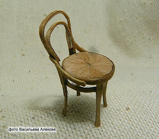 Старый венский стул масштаб 1:35 46289ce19690