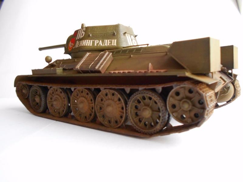 Т-34/76 выпуск начала 1943г 1/35 (Моделист №303529) - Страница 2 B72fe708e50d