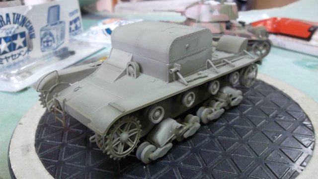 Т-26Т артиллерийский тягач, 1/35, (RPM 35072). Cfc5a99e8b33