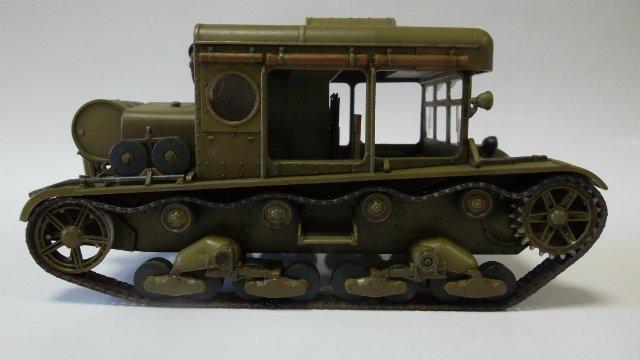 Тягач Т-26 / трофейный польский С7Р, 1/35, (Mirage hobby 35903). D9f8429321ec