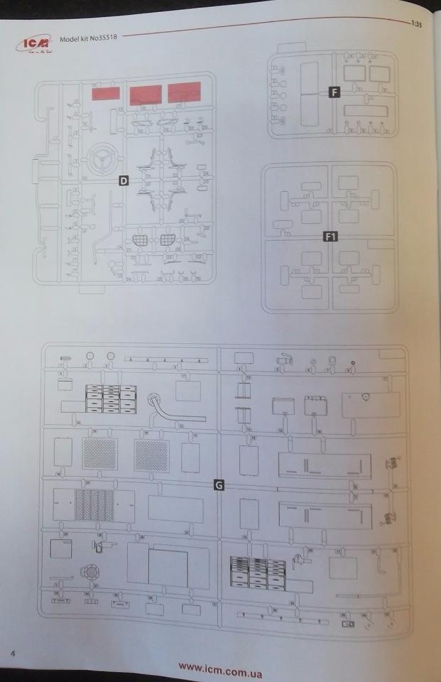 Обзор ЗиЛ-131 Аварийная служба / КУНГ, 1/35 (ICM 35518).  747339f8141f