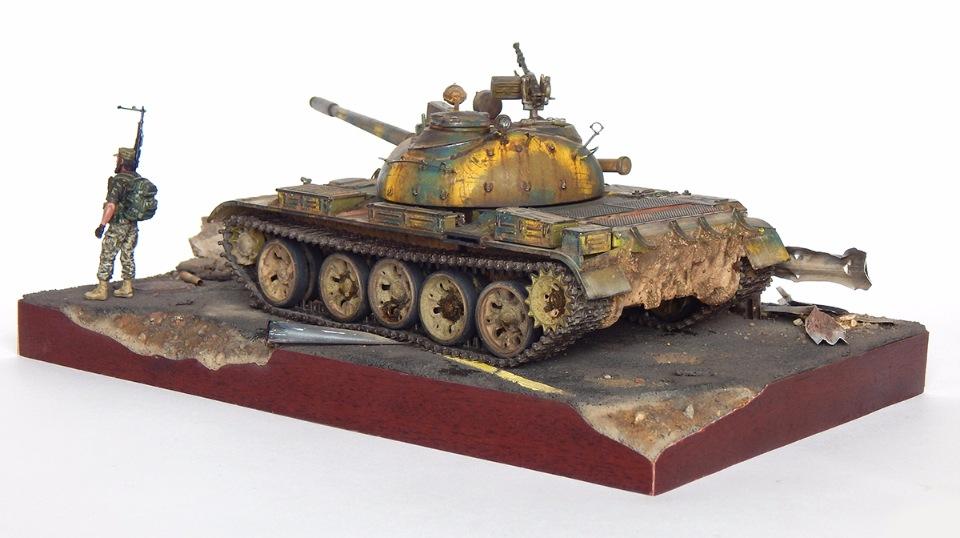 Сирийский Т-55А 49667623e382