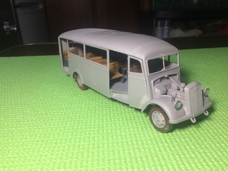 RODEN Opel 3,6-47 Omnibus w39 Ludewig Ea957a7a982e