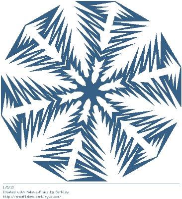 Зимнее рукоделие - вырезаем снежинки! - Страница 10 9bc9020f743f