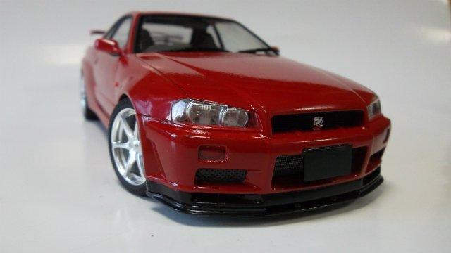 Nissan Skyline GT-R, 1/24, (Tamiya 24210) C243a12c18a9