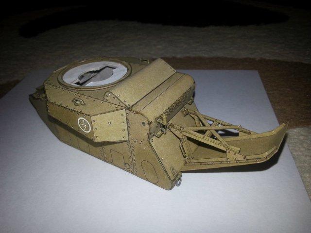 Т-18 (МС-1) Бумажное моделирование №45 5f682f6a04ee