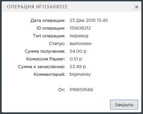 BIG MANEY - bigmaney.com достойный инвест  проект 464562cd1169