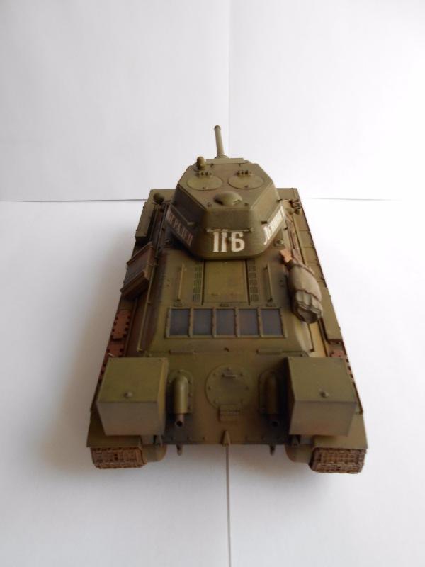 Т-34/76 выпуск начала 1943г 1/35 (Моделист №303529) - Страница 2 Bcec9177a910