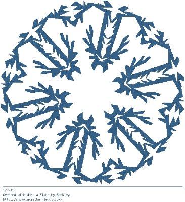 Зимнее рукоделие - вырезаем снежинки! - Страница 10 Dd45ea9118cd
