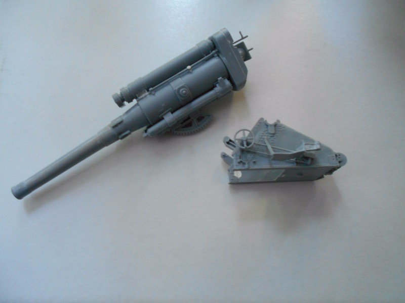 Советская 203-мм гаубица Б-4 1/35 (Alan №3522) 6164c1cf3264