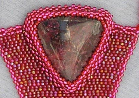 Как прикрепить камни в бисерной вышивке? B46a414bef0b
