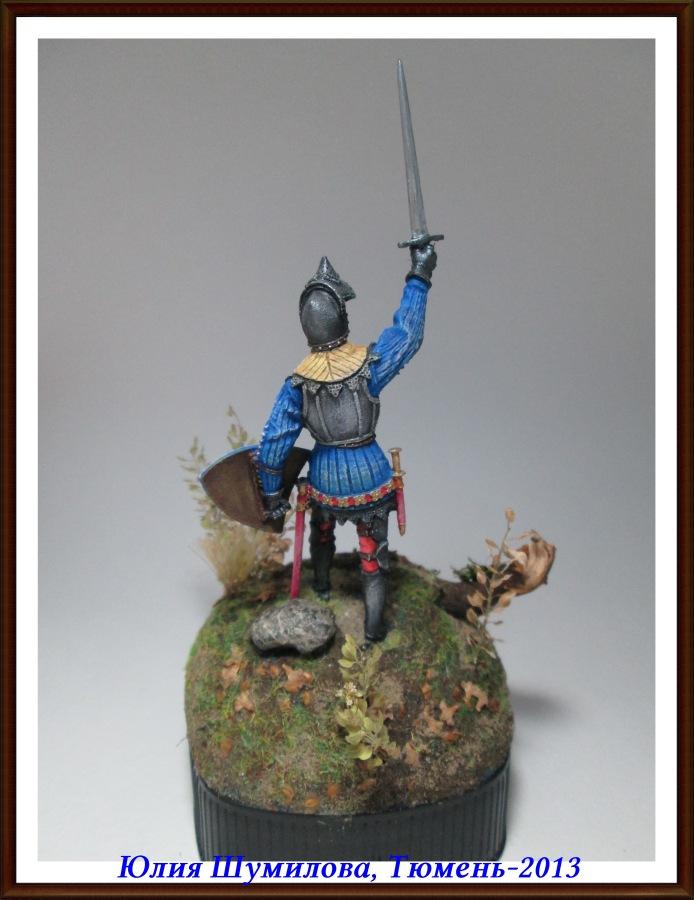 Французский рыцарь, 2-я пол. 14 века 3f0555a076a4