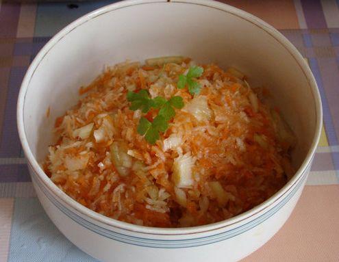 Салат из тертого топинамбура с морковью 4e67b5bfc4be