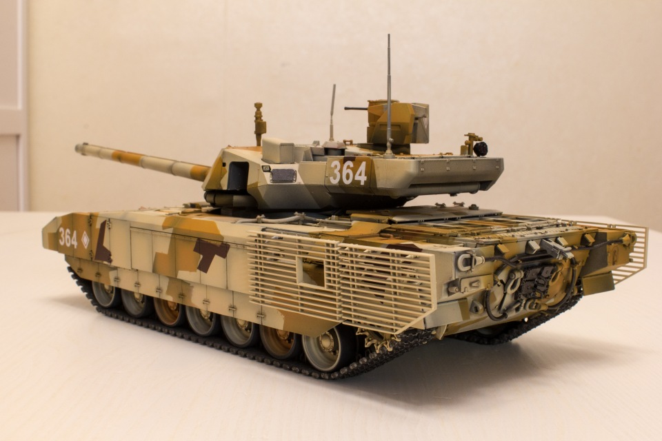 Т-14 Армата. Звезда, 1:35 9a08f49aeac4