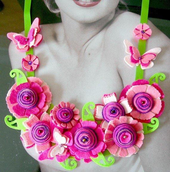 Цветы из фетра 387179660844