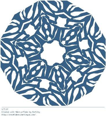 Зимнее рукоделие - вырезаем снежинки! - Страница 10 A2681c2db02f
