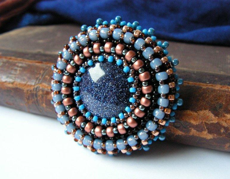 Как прикрепить камни в бисерной вышивке? 06765f672ea6