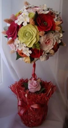 Цветы ручной работы из полимерной глины 8fcd8af7d243