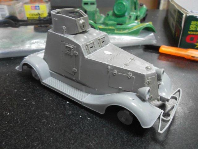 Бронеавтомобиль ФАИ-М, 1/35, (MSD 3562). 7e4a432c5f6a