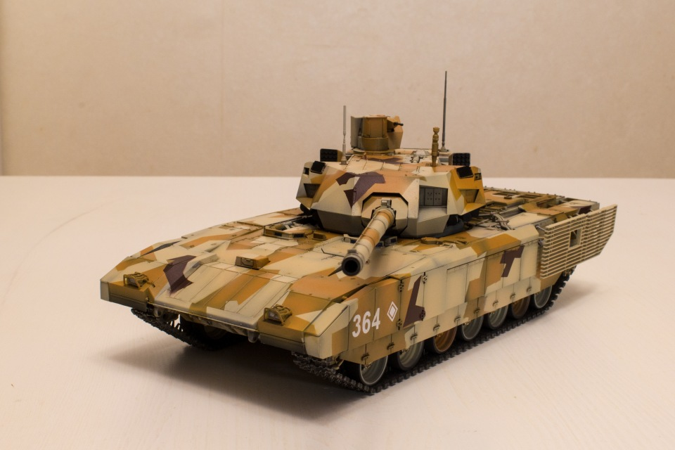 Т-14 Армата. Звезда, 1:35 Ad75063576aa