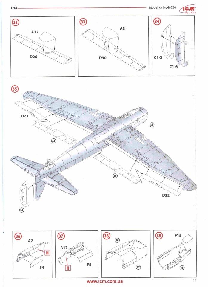 Обзор Ju-88A-14, 1/48, (ICM 48234). 6262e35591bd