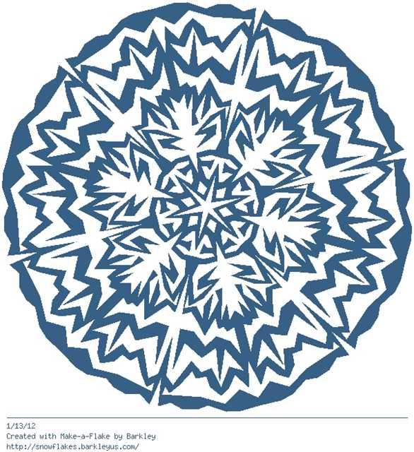 Зимнее рукоделие - вырезаем снежинки! - Страница 11 47f1ba3978c2
