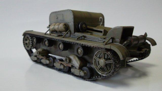 Т-26Т артиллерийский тягач, 1/35, (RPM 35072). 260ed7edbcf9