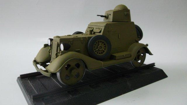 Бронеавтомобиль БА-20 Ж/Д, 1/35, (Старт). 4cee823b8fee
