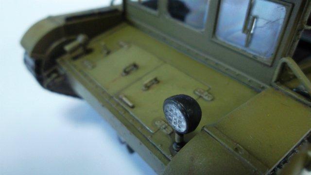 Тягач Т-26 / трофейный польский С7Р, 1/35, (Mirage hobby 35903). 93aa0f286878