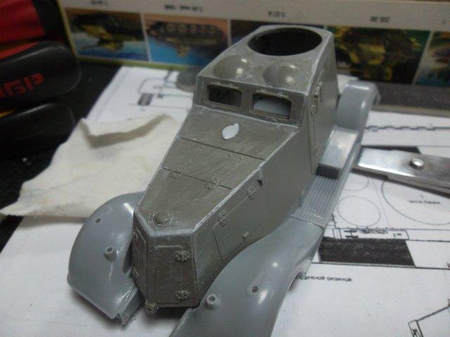 Бронеавтомобиль ФАИ-М, 1/35, (MSD 3562). 0c89eef84644