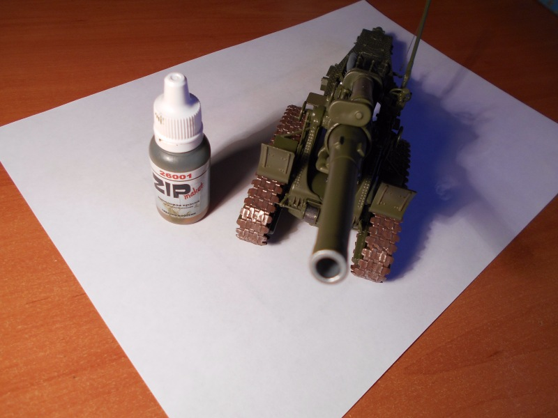 Советская 203-мм гаубица Б-4 1/35 (Alan №3522) - Страница 2 E97514530fc4