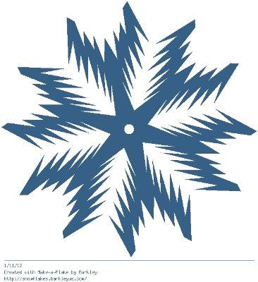 Зимнее рукоделие - вырезаем снежинки! - Страница 10 07c7d656af7c