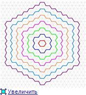 Магический числовой шестиугольник 6ab9a929baaet
