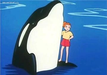 Тико и Нанами / Tico of the Seven Seas / Nanatsu no Umi no Tico / 七つの海のティコ (1994 г. 39 серий) 2e82691bcf41