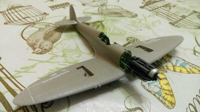 Spitfire Mk.IXc 1/48 ICM 8524cb57e397