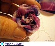 Цветы из ткани  2f3d0f28717at
