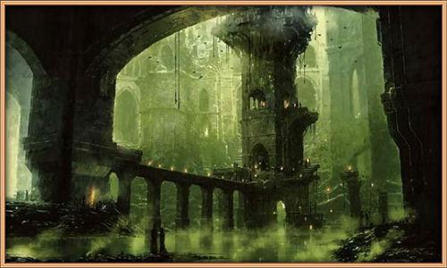 Ворота замка и подвесной мост 3809e4965370