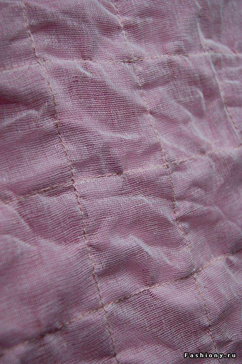 Шьем декоративное одеяло и подушку. Мастер-класс 659d30dccc9b