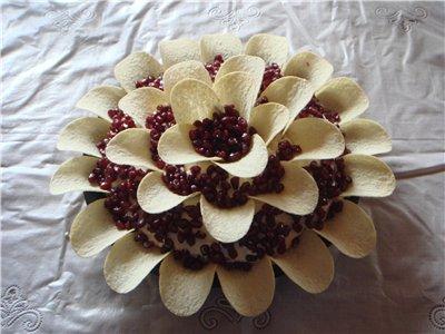 """Салат """"Гранатовый цветок"""" 132f27b746aa"""